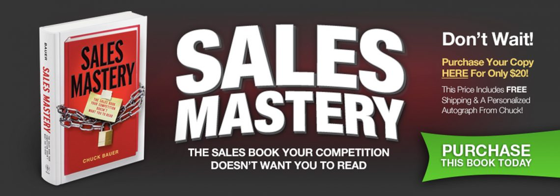 Sales Mastery Book - The Sales Book Your Competition Doesn't Want You To Read
