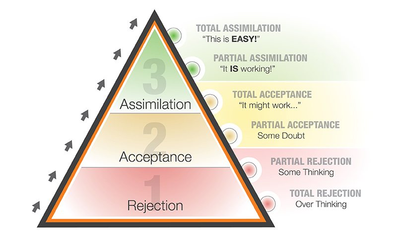 The Pyramid of Learned Behaviors
