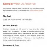 GoalMastery Annual Goal Planner