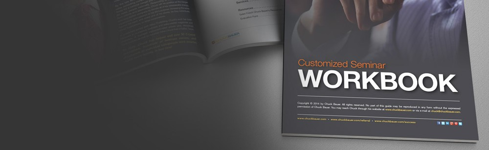 100+ Page Custom Seminar Workbook