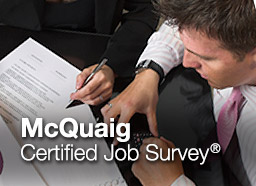 Button: McQuaig Certified Job Survey