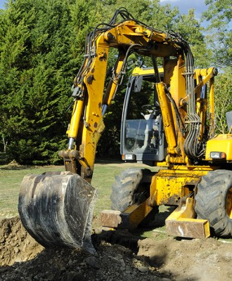 Backhoe - The Perfect Sales Storm