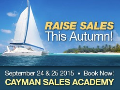Cayman Sales Academy - September 24th & 25th 2015