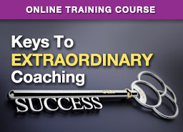 Button: Online Training: Keys To Extraordinary Coaching Success