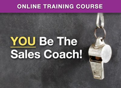 Button: Online Training: You Be The Sales Coach