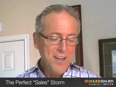 """The Perfect """"Sales"""" Storm"""