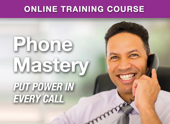 Online Learning Center - PhoneMastery - Put Power In Every Phone Call