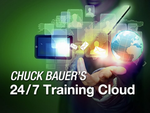 Chuck Bauer's 24/7 Sales Training and Business Training Cloud