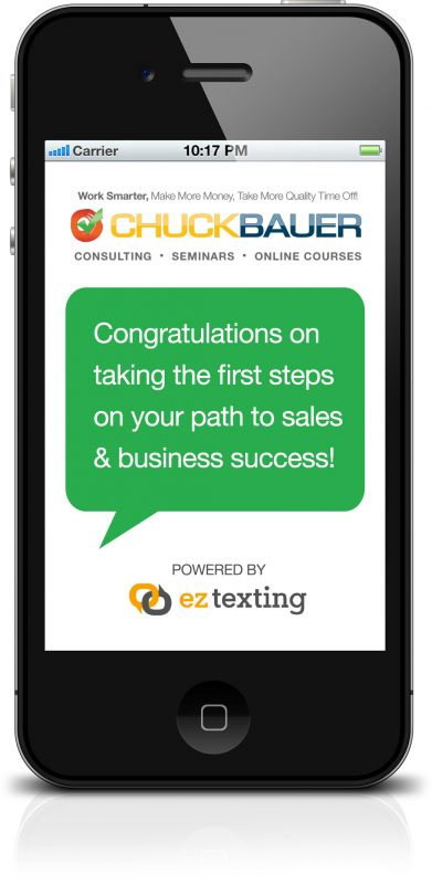 Get Sales & Business Strategies Delivered Right To Your Phone With EZ Texting!