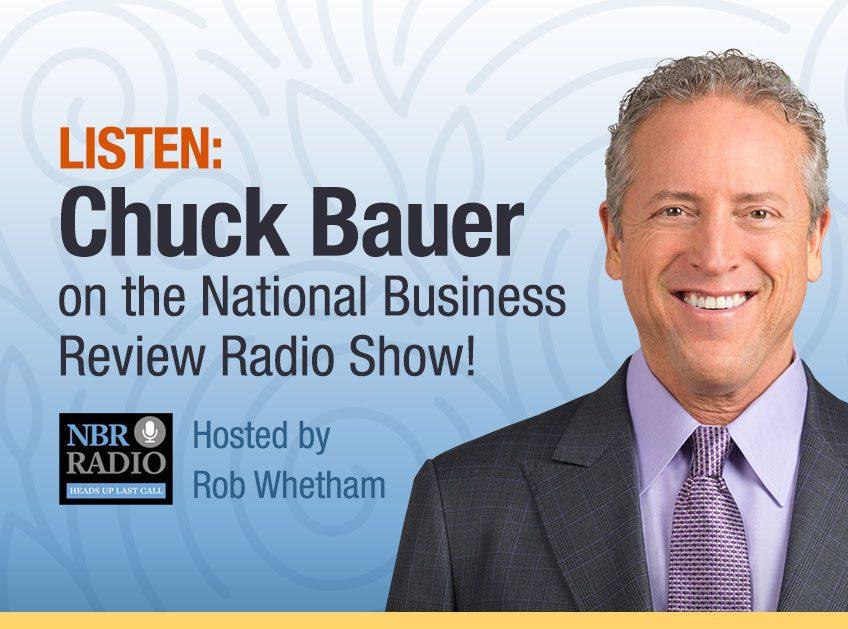 National Business Review Radio Show - Listen to Chuck Bauer - December 2018