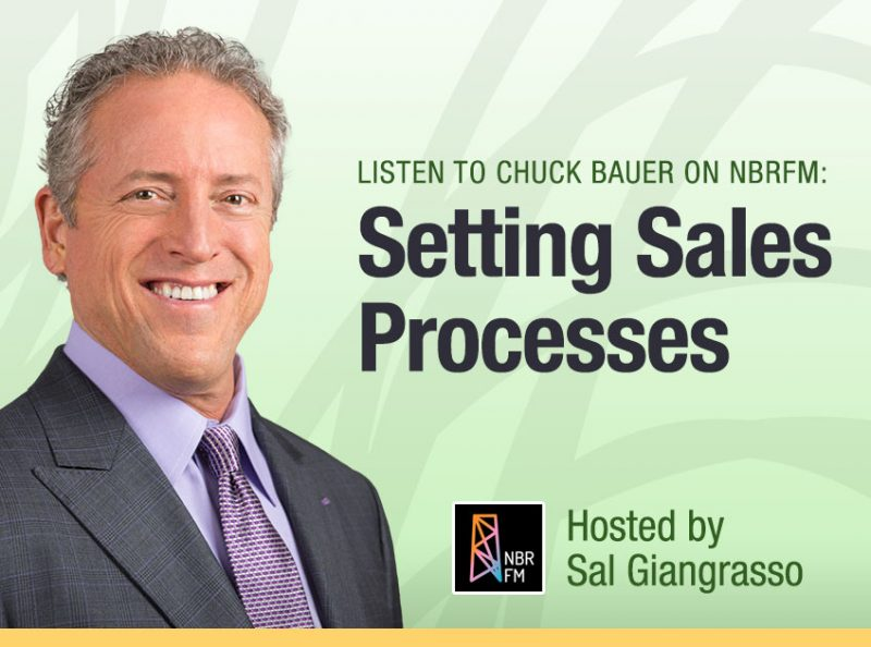 Setting Sales Processes - Chuck Bauer on NBRM - March 8 2019
