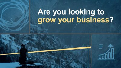 Are you looking to grow your business?
